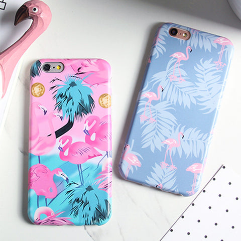 Lovely colourful Flamingo Case For iphone 7 Case / 6 /6S plus