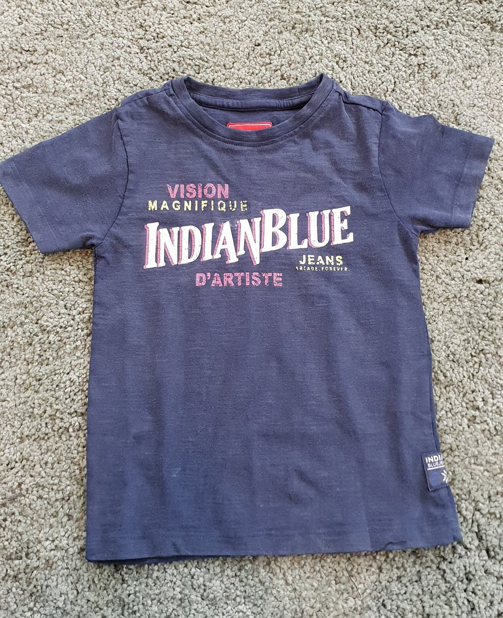 Indian Blue Jeans : T-shit Indianblue T-shirt Outlet Kamélie.be