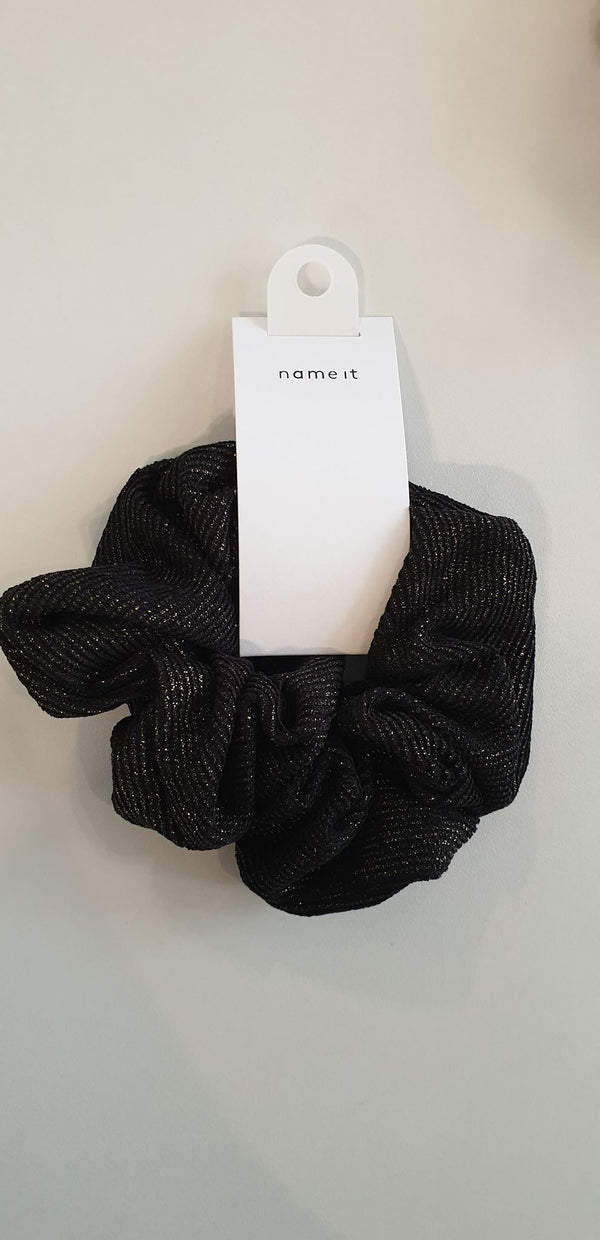 Name it : Scrunchie Black Scrunchies Accessoires Kamélie.be