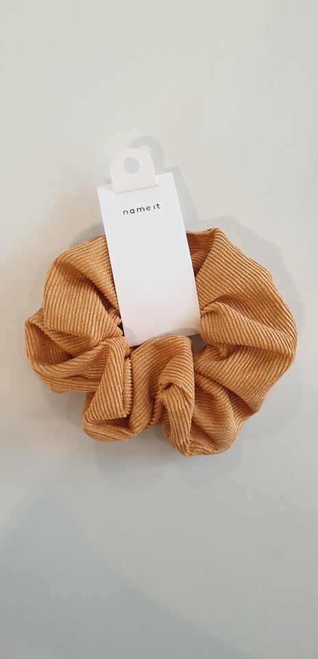 Name it : Scrunchie Golden Orange Scrunchies Accessoires Kamélie.be