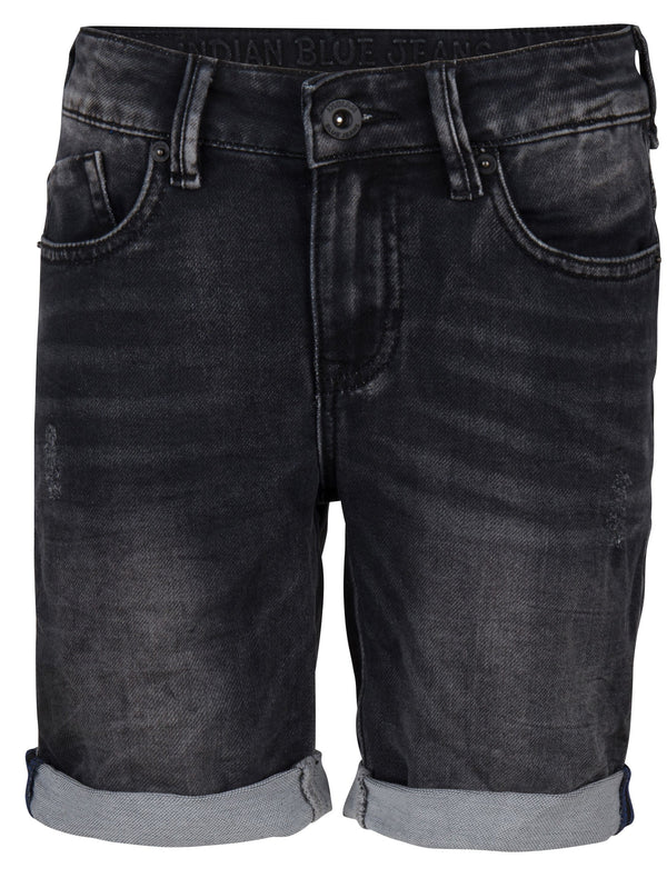 Indian Blue Jeans : Black Dann Jog Short Short Outlet Kamélie.be
