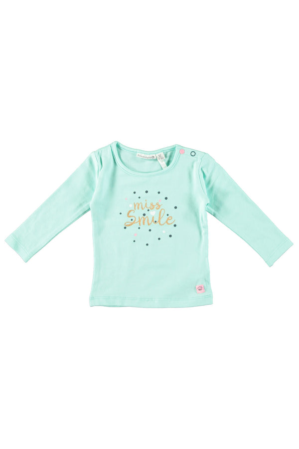 Bampidano : T-shirt Miss smile Longsleeve Outlet Kamélie.be