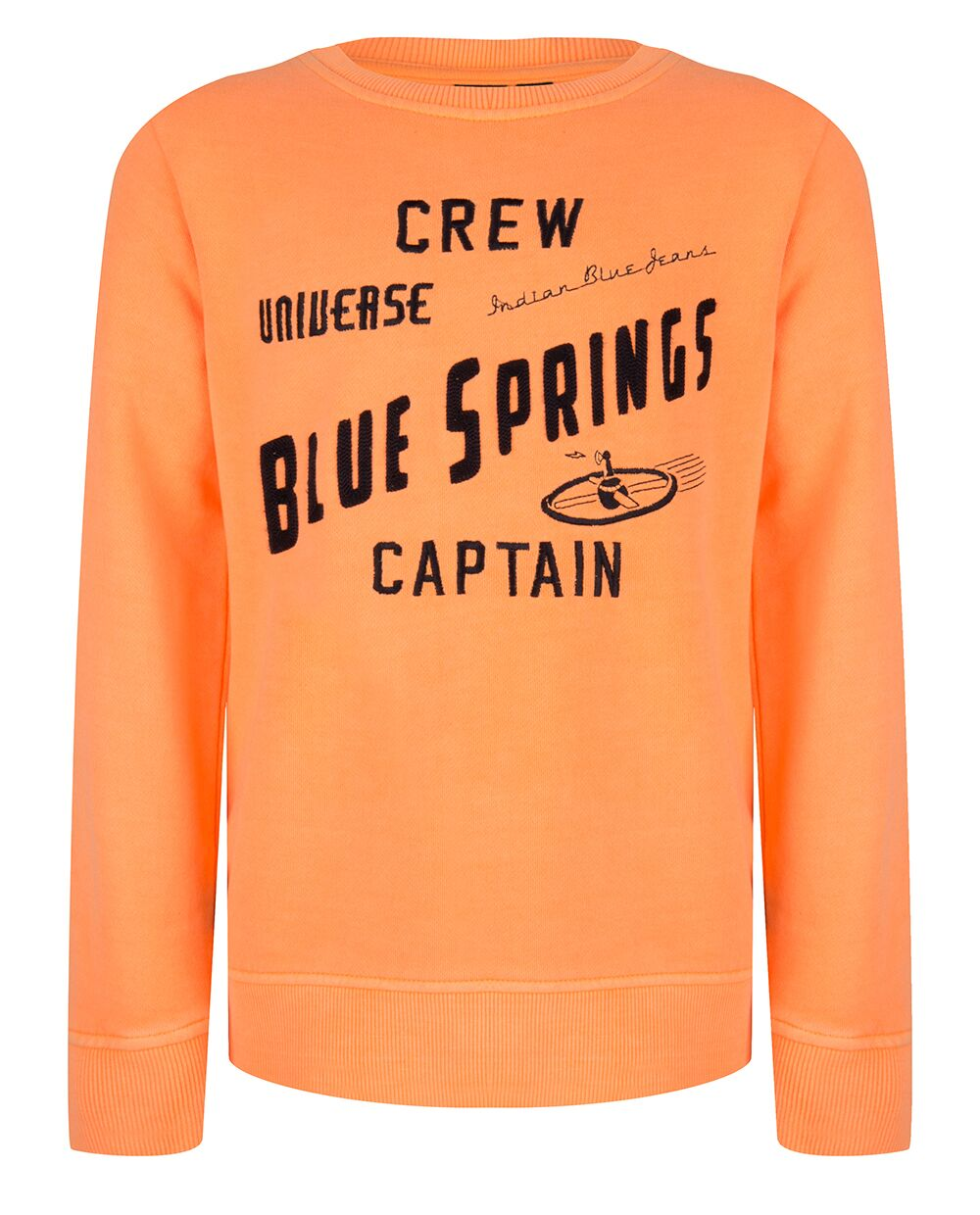 Indian Blue Jeans : Sweater Crew captain Sweater Outlet Kamélie.be