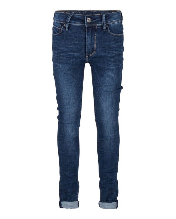 Indian Blue Jeans : Blue Andy Flex Skinny Fit Broek Indian Blue Jeans Kamélie.be