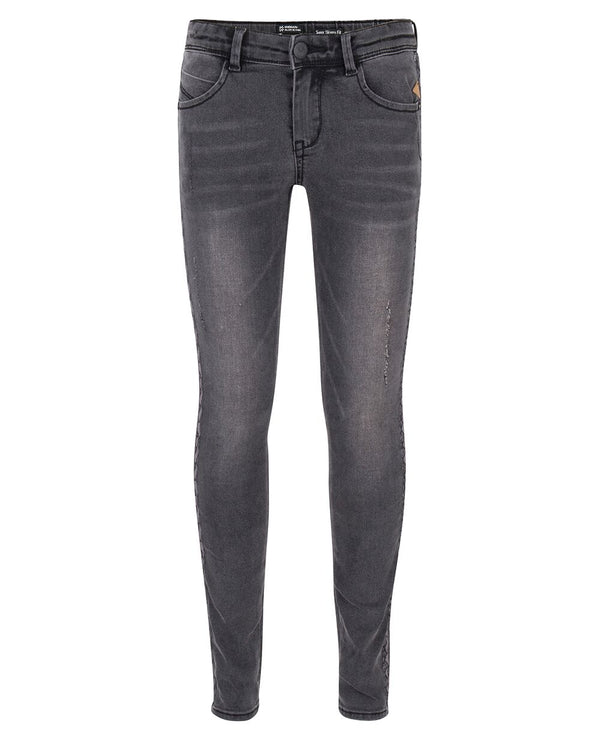 Indian Blue Jeans : Grey jazz super skinny fit Broek Indian Blue Jeans Kamélie.be