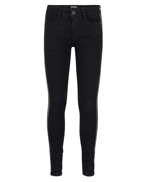 Indian Blue Jeans : Black jazz super skinny fit Broek Indian Blue Jeans Kamélie.be