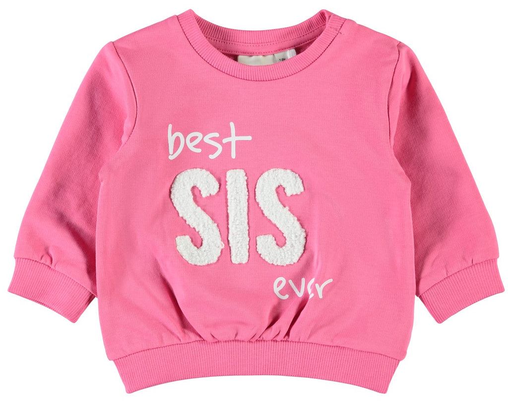 Name it : Sweater 'Best sis ever' Sweater Name it Kamélie.be