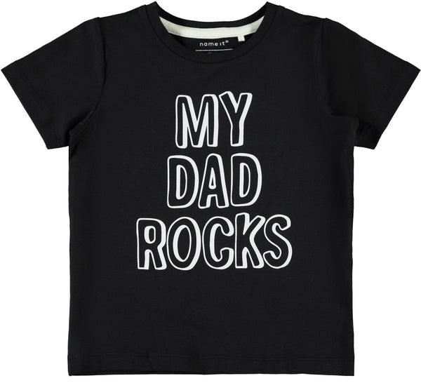 Name it : T-shirt 'My dad rocks' T-shirt Name it Kamélie.be