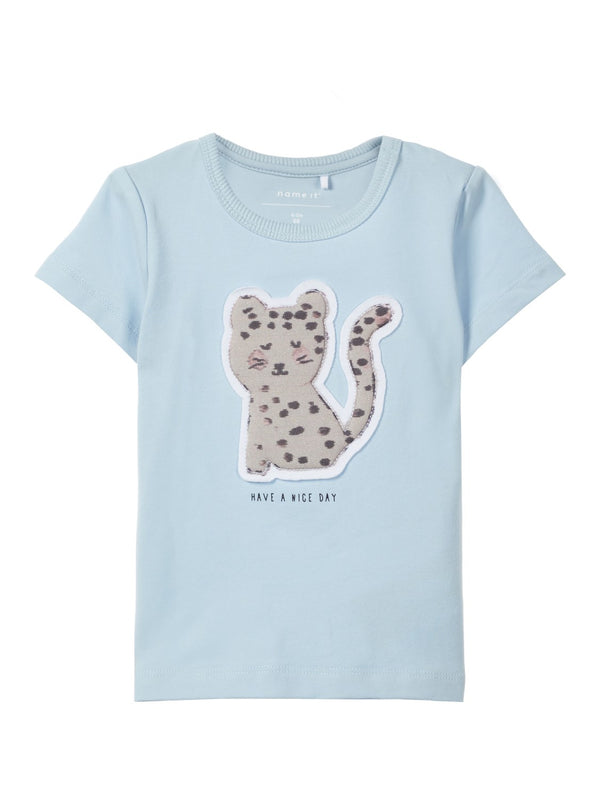 Name it : Lichtblauwe T-shirt T-shirt Outlet Kamélie.be