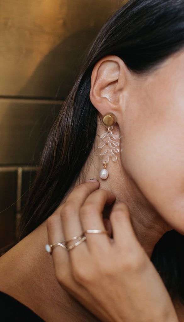 Statement earrings: the best styles for party season