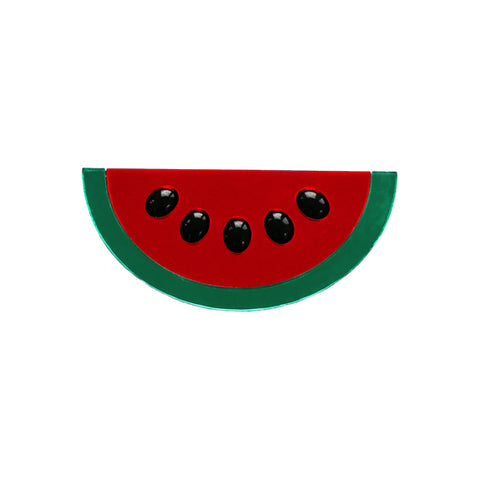 Watermelon Wow Brooch by Jennifer Loiselle - available at collectiveboutique.co.uk