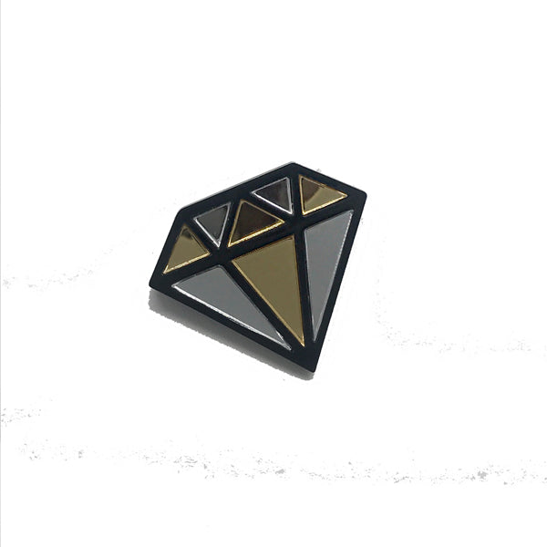 Diamonds are Forever Brooch