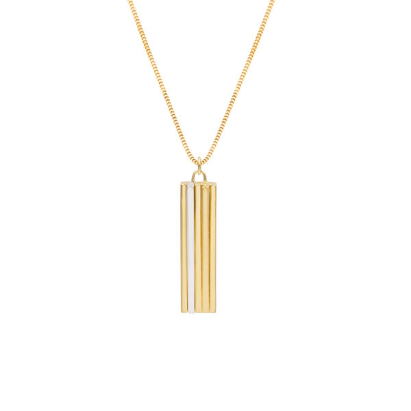 Scala Gold & Silver Pendant Necklace