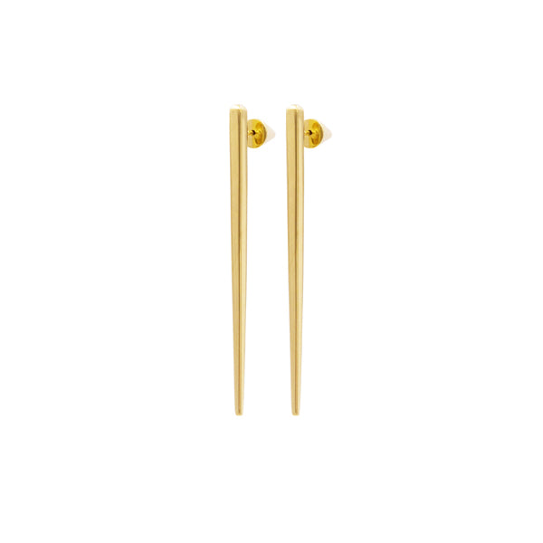 Scala Gold Drop Earrings