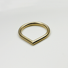 gold minimal stacking ring