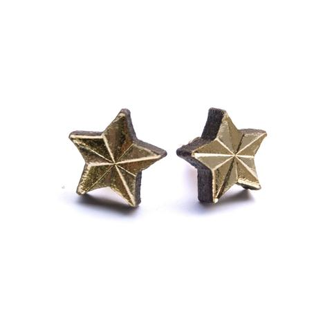Lone Starlet Stud Earrings