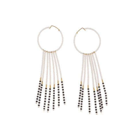 Naibor Porcupine Drop Earrings by Sidai Designs - available at collectiveboutique.co.uk