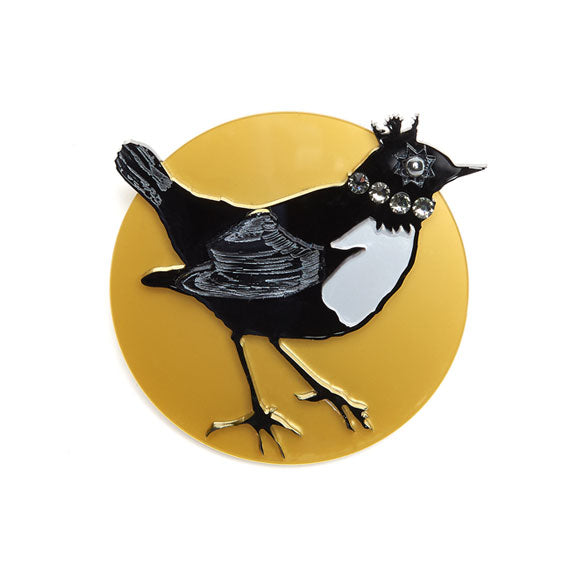 Jennifer Loiselle Exclusive Magpie brooch