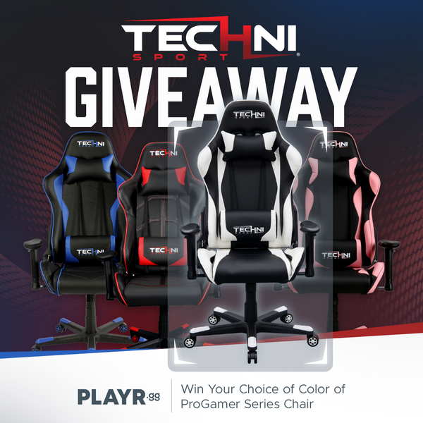 Giveaway Gaming Chair - TechniSport and PlayrGG