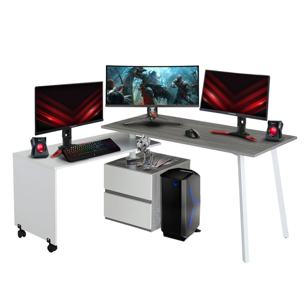 Techni Sport Gaming Desk - Transformer