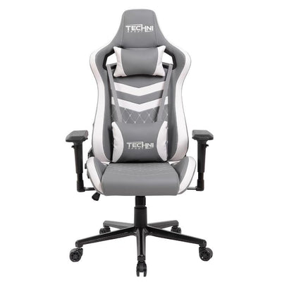 White And Grey Gaming Chair