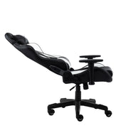 Reclined TechniSport 92 White Computer Chair