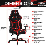 TSF71 Red Gaming Chair