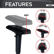 Features of 4D Gaming Chair Armrests