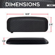 Dimensions of 4D Gaming Chair Armrests