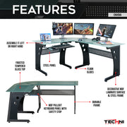 Techni Sport Gaming Desk - Envidia