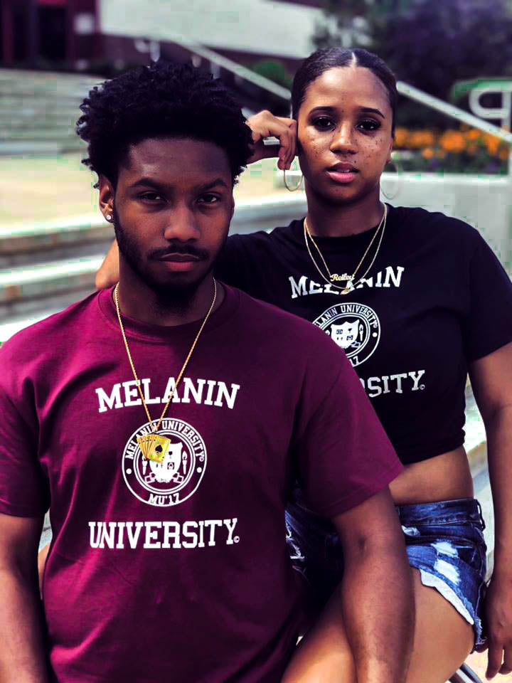 MELANIN UNIVERSITY® Unisex T-shirts - Melanin University®
