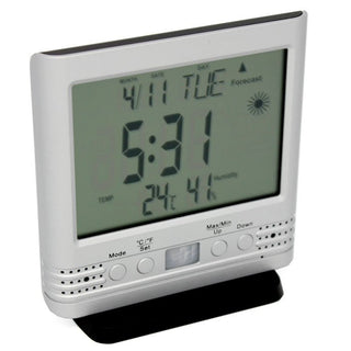 weather clock hidden camera