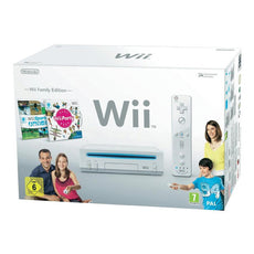 Nintendo Wii + Wii Party + Wii Sport Nintendo (3 pcs) White