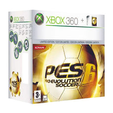 Xbox 360 + Pro Evolution Soccer 6 Microsoft 20 GB (2 pcs)