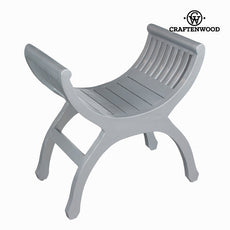 Silver yuyu chair - Let's Deco Collection by Craftenwood