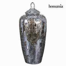 Mosaic glass jar - Alhambra Collection by Homania