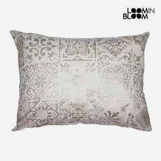 Cushion Beige (50 x 70 cm) - Queen Deco Collection by Loom In Bloom
