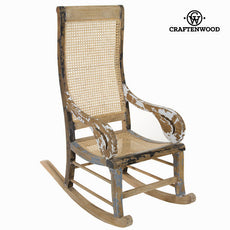 Stripped rocking chair  by Craftenwood