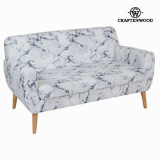 2 seats marble sofa by Craftenwood