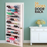 Door Rack Shoe Rack (36 pairs)
