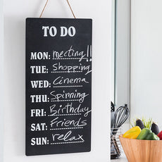 Chalkboard for Weekly Notes