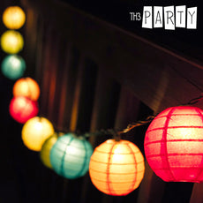 Th3 Party Folding LED Lanterns (pack of 8)