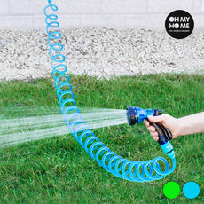 Oh My Home Coiled Watering Hose with Spray Gun