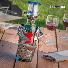 Homania Metal Barbecue Chef Bottle Rack