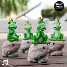 Princely Frog with Sound and Motion Sensor Oh My Home