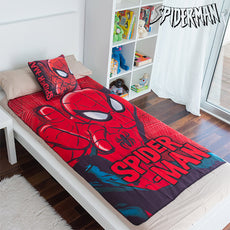 Spiderman Blanket and Cushion Set