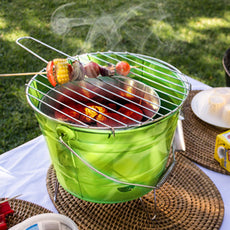 Bucket Charcoal Barbecue