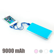 High-Capacity Power Bank 9000 mAh