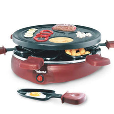 Tristar RA2991 Gourmet Raclette Grill with 6 Pans