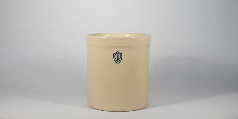1 Gallon Ceramic Crock